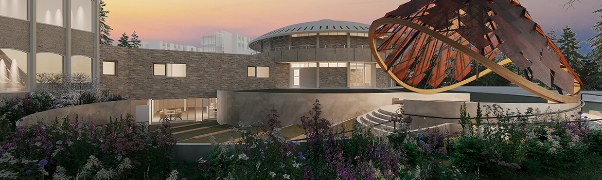 An artist rendering of the new Indigenous Learning Space