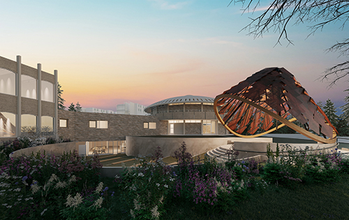 Rendering of the new Indigenous Learning Space