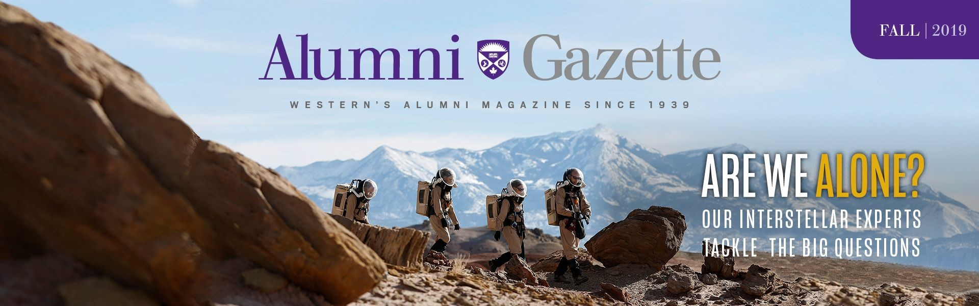 fall 2019 alumni gazette