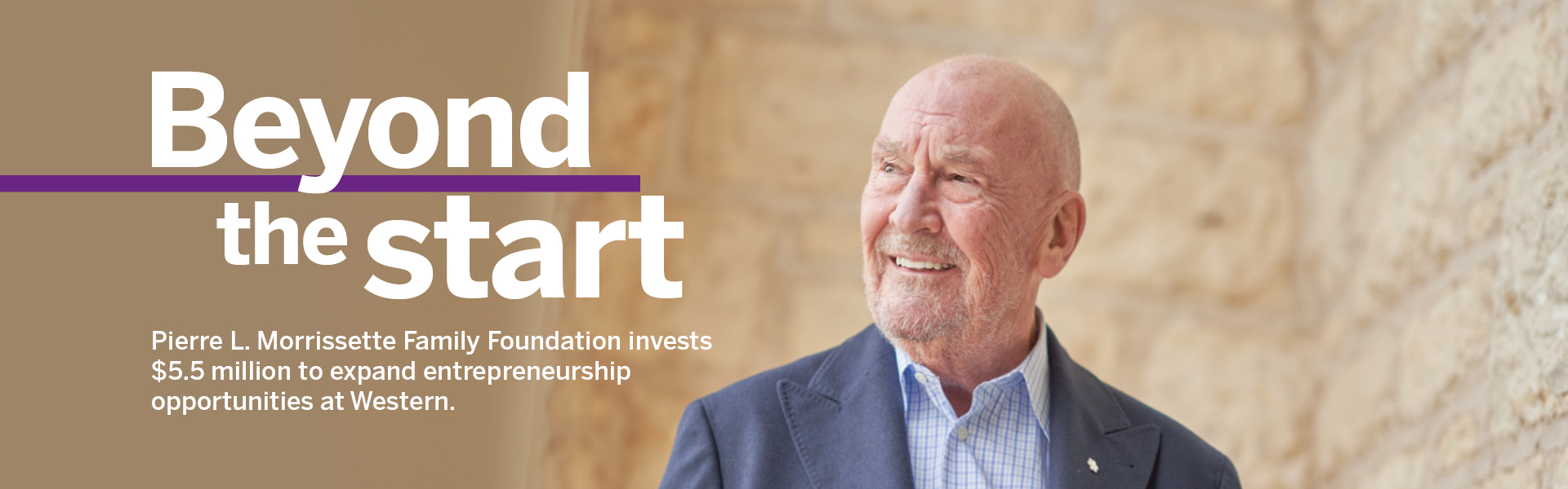 Beyond the start: Pierre L. Morrissette Family Foundation invests $5.5 million to expand entrepreneurship opportunities at Western