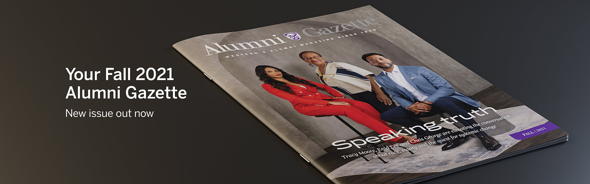Your Fall 2021 Alumni Gazette: New Issue Out Now