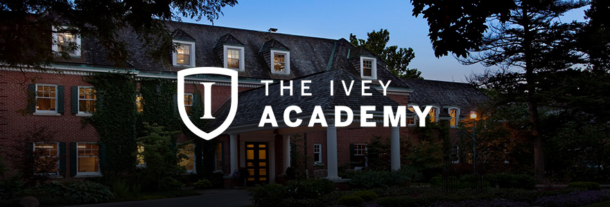 Ivey Academy Banner