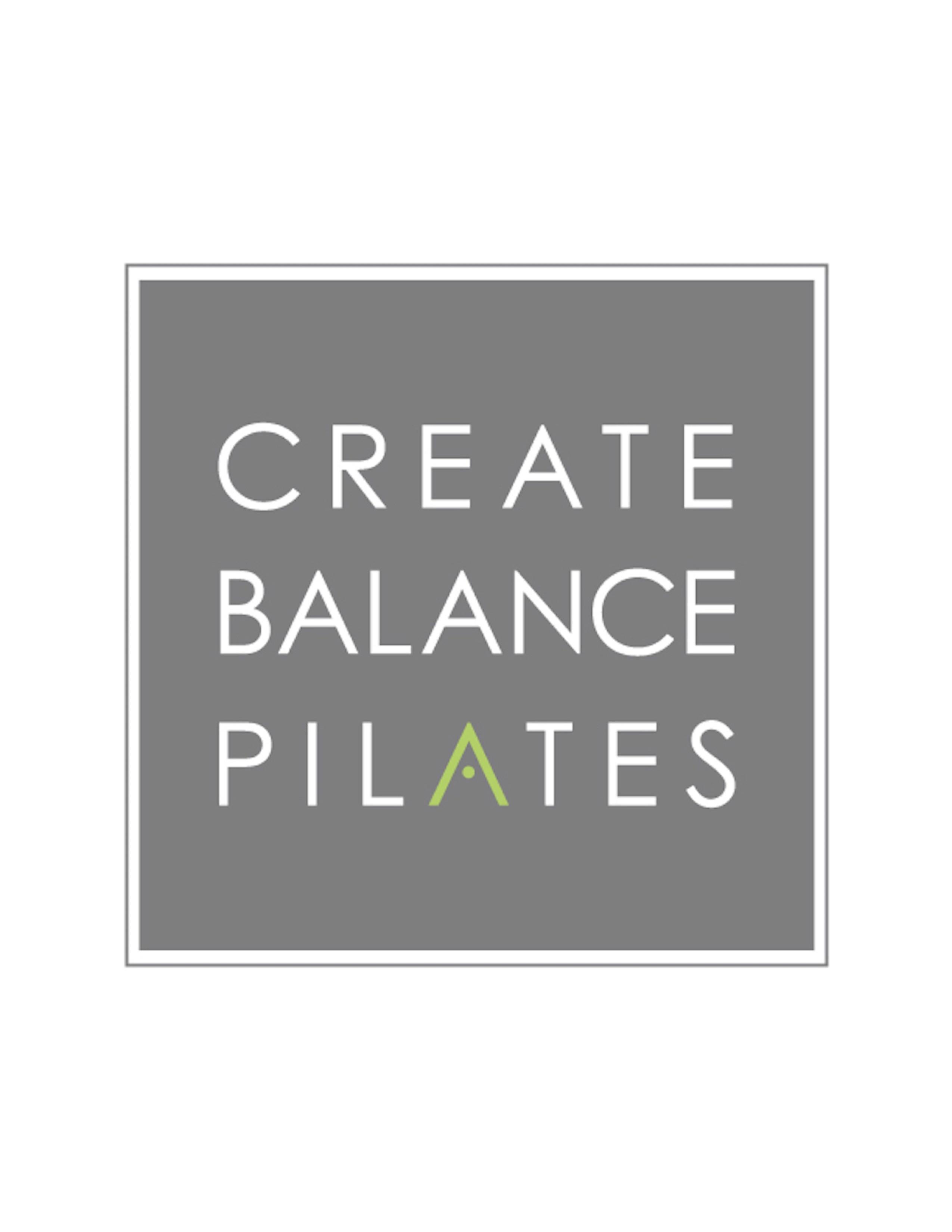 Create Balance Pilates Inc. logo