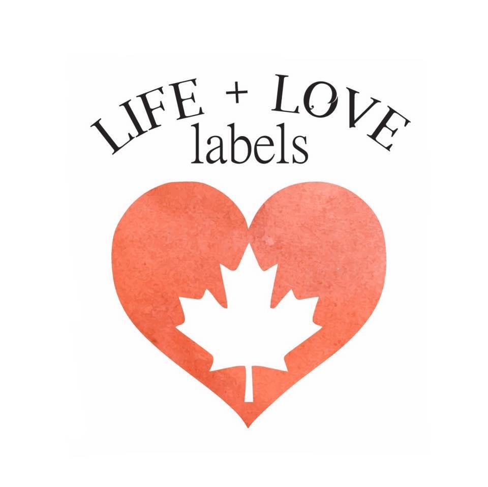 Life + Love Labels logo