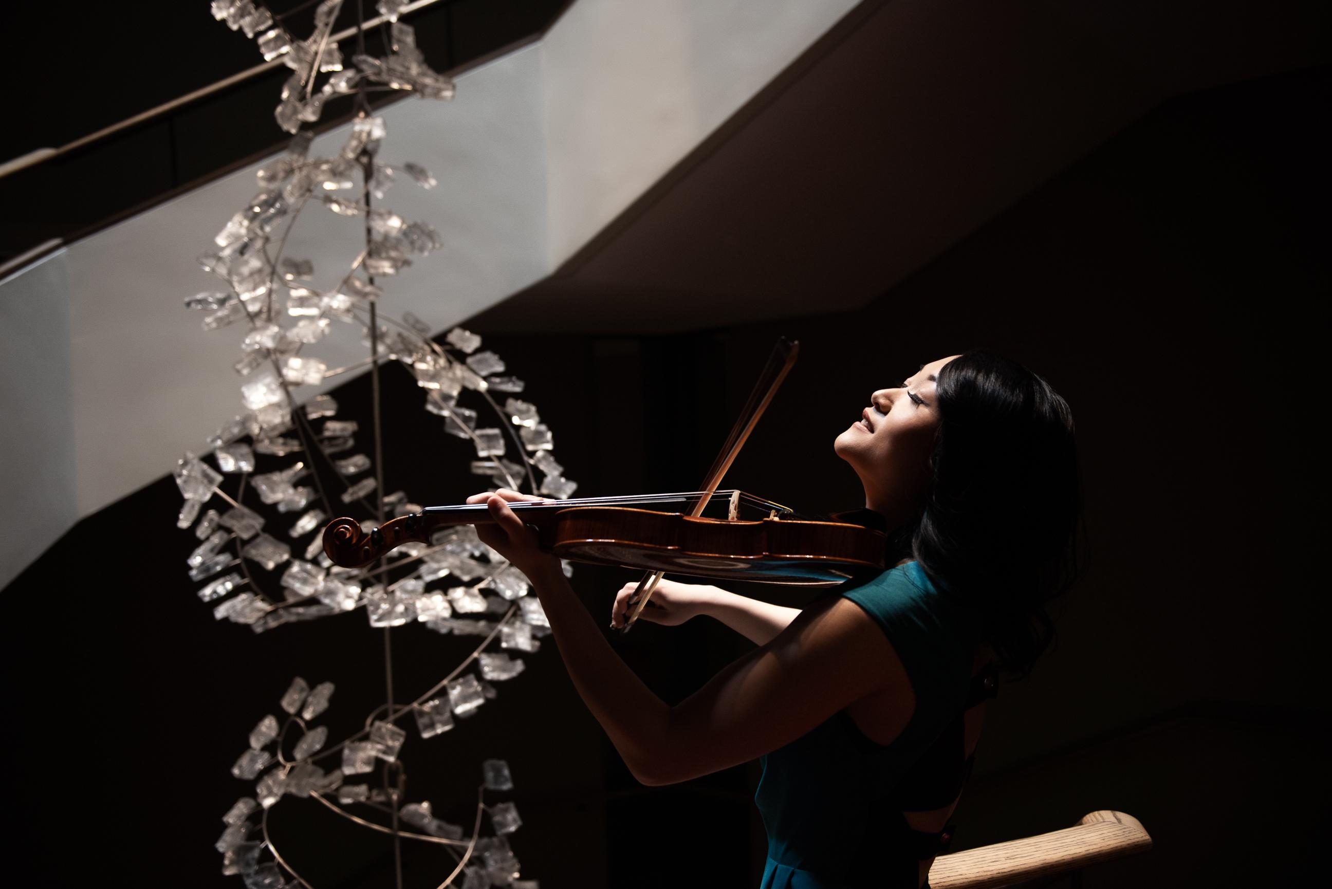 Precious Moment Violin Service