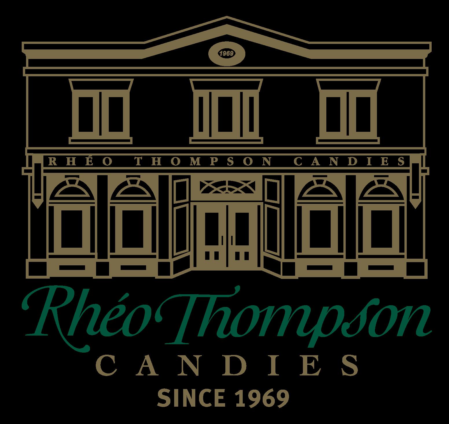 Rheo Thompson Candies logo
