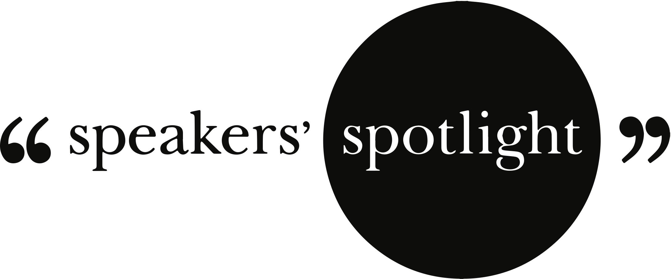 Speakers' Spotlight logo