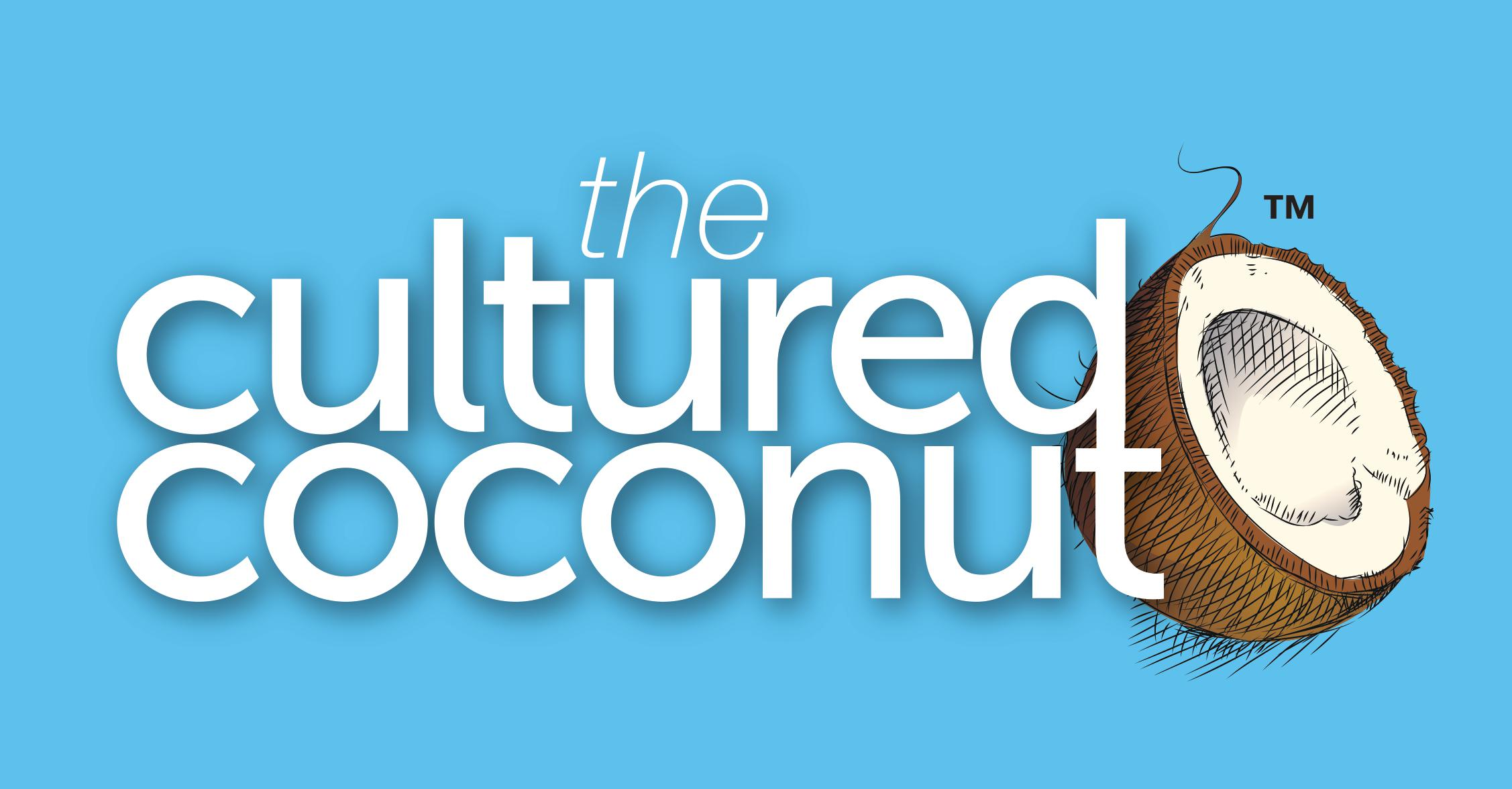 Cultured Coconut logo